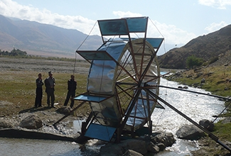 Central Asia: Waterwheels